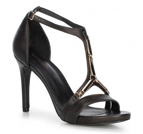 Buty damskie, czarny, 90-D-908-1-37, Zdjęcie 1