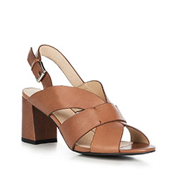 Buty damskie, Brązowy, 90-D-909-5-37, Zdjęcie 1