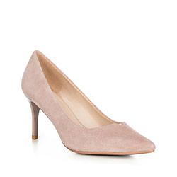 Buty damskie, pudrowy róż, 90-D-951-8-41, Zdjęcie 1