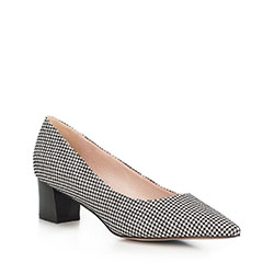 Buty damskie, czarno - biały, 90-D-953-1-36, Zdjęcie 1