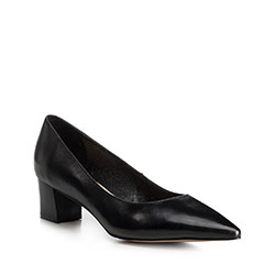 Women's court shoes, black, 90-D-954-1-36, Photo 1
