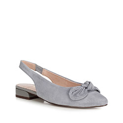 Women's shoes, grey, 90-D-956-8-36, Photo 1