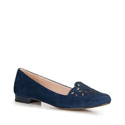 Buty damskie, niebieski, 90-D-965-7-40, Zdjęcie 1