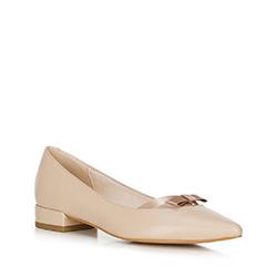 Women's ballerina shoes, beige, 90-D-966-9-35, Photo 1