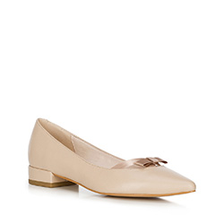 Buty damskie, beżowy, 90-D-966-9-41, Zdjęcie 1