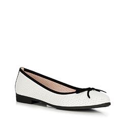 Buty damskie, biało - czarny, 90-D-967-0-40, Zdjęcie 1