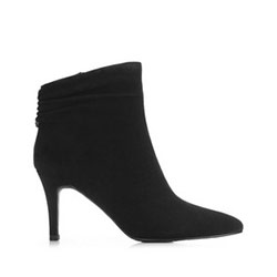 Women's high stiletto heel boots, black, 91-D-961-1-40, Photo 1