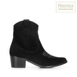 Shoes, black, 92-D-053-1-35, Photo 1