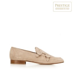 Shoes, beige, 92-D-125-9-37_5, Photo 1