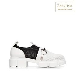 Shoes, white-black, 92-D-136-0-39_5, Photo 1