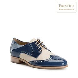 Buty damskie, niebiesko - beżowy, 82-D-113-7-39, Zdjęcie 1