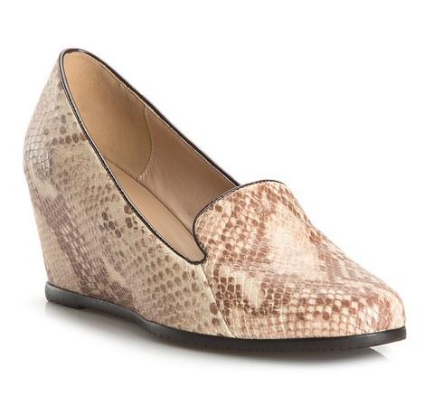 Buty damskie, beżowo - brązowy, 81-D-613-9-35, Zdjęcie 1