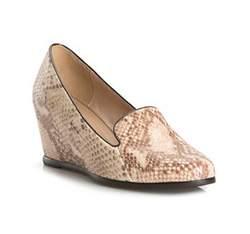 Buty damskie, beżowo - brązowy, 81-D-613-9-37, Zdjęcie 1