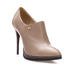 Buty damskie, beżowy, 81-D-614-9-39, Zdjęcie 1