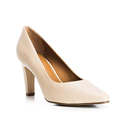 Buty damskie, kremowy, 84-D-702-9-35, Zdjęcie 1