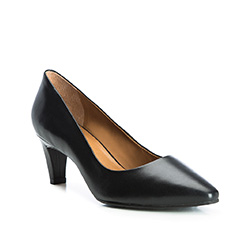 Buty damskie, czarny, 84-D-703-1-36, Zdjęcie 1