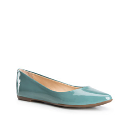 Women's shoes, sky blue, 84-D-751-Z-37, Photo 1