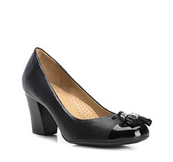 Buty damskie, czarny, 84-D-704-1-37, Zdjęcie 1
