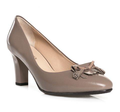 Buty damskie, beżowy, 84-D-851-9-36, Zdjęcie 1