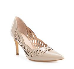 Buty damskie, beżowy, 84-D-601-8-39, Zdjęcie 1