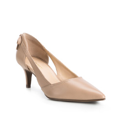 Women's shoes, light beige, 84-D-755-9-35, Photo 1