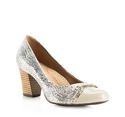 Buty damskie, jasny beż, 84-D-705-9-35, Zdjęcie 1