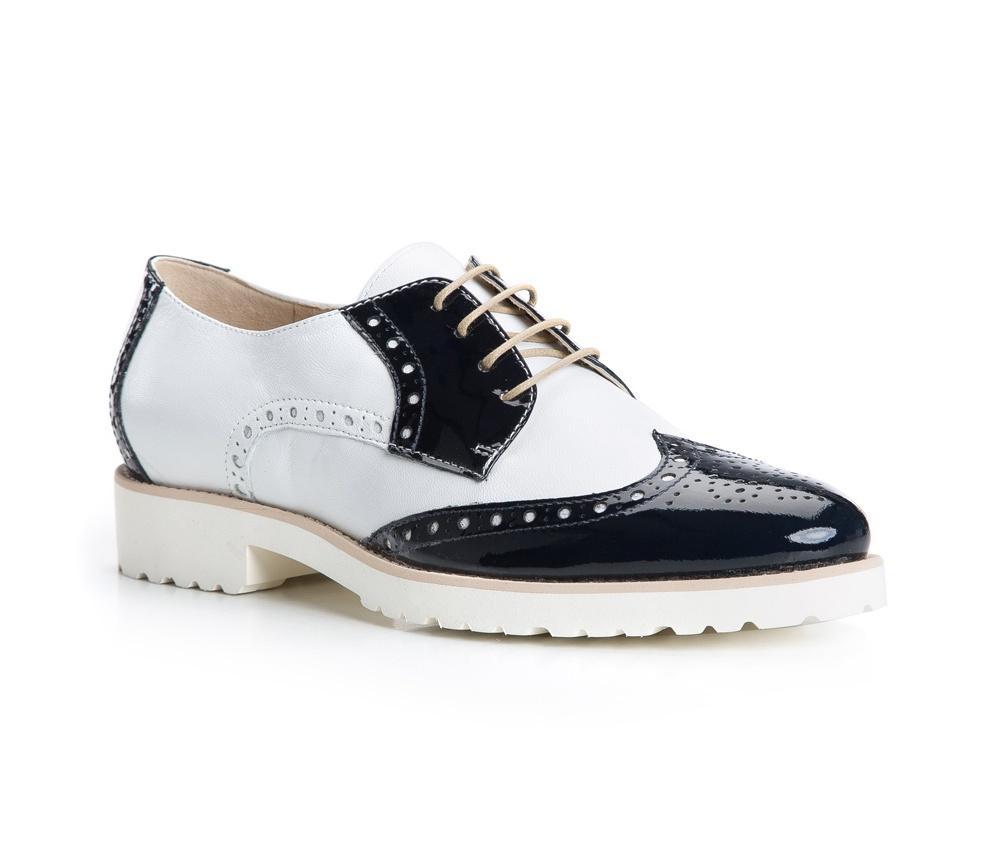 Обувь женская Wittchen 84-D-105-7, бело-синий