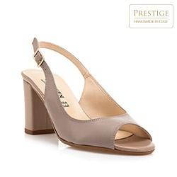 Buty damskie, beżowy, 84-D-400-9-38, Zdjęcie 1