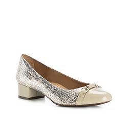 Buty damskie, jasny beż, 84-D-706-9-35, Zdjęcie 1