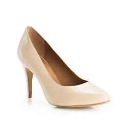 Buty damskie, kremowy, 84-D-701-9-39, Zdjęcie 1
