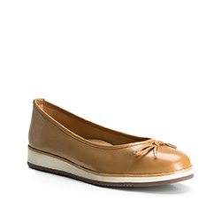 Women's shoes, light brown, 84-D-710-5-38, Photo 1