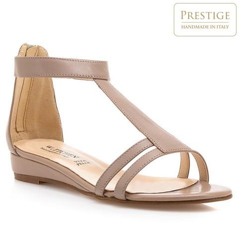 Buty damskie, beżowy, 84-D-403-9-35, Zdjęcie 1