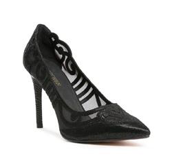 Buty damskie, czarny, 84-D-500-1-41, Zdjęcie 1