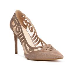 Buty damskie, beżowy, 84-D-500-9-40, Zdjęcie 1