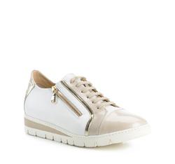 Buty damskie, beżowo - biały, 84-D-110-8-37, Zdjęcie 1