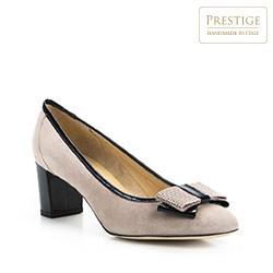 Buty damskie, beżowy, 84-D-112-9-35, Zdjęcie 1