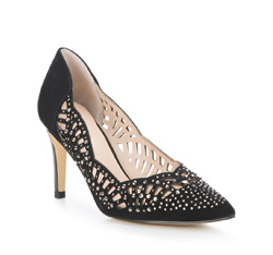 Buty damskie, czarny, 84-D-600-1-38, Zdjęcie 1