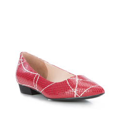 Women's ballerina shoes, red, 84-D-602-3-39, Photo 1