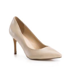 Buty damskie, jasny beż, 84-D-503-9-38, Zdjęcie 1