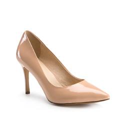 Buty damskie, kremowy, 84-D-503-P-35, Zdjęcie 1