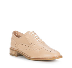 Buty damskie, beżowy, 84-D-603-9-36, Zdjęcie 1