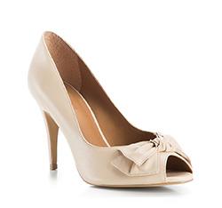 Buty damskie, beżowy, 84-D-715-9-41, Zdjęcie 1