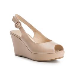 Buty damskie, beżowy, 84-D-507-9-41, Zdjęcie 1