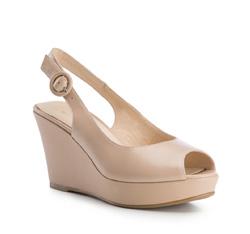 Buty damskie, beżowy, 84-D-507-9-38, Zdjęcie 1