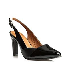 Buty damskie, czarny, 84-D-716-1-38, Zdjęcie 1