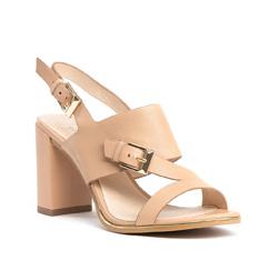 Buty damskie, beżowy, 84-D-509-9-38, Zdjęcie 1