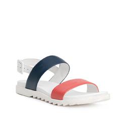 Buty damskie, biało - czerwony, 84-D-510-X-37, Zdjęcie 1