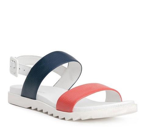 Buty damskie, biało - czerwony, 84-D-510-X-35, Zdjęcie 1