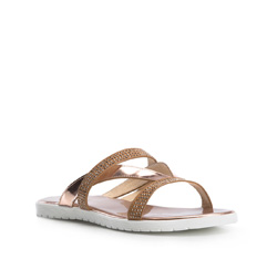Women's sandals, gold, 84-D-511-G-37, Photo 1