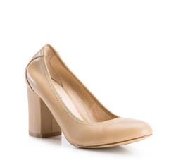 Buty damskie, beżowy, 84-D-902-9-38, Zdjęcie 1